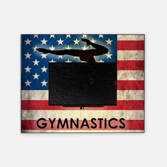 Grunge Gymanstics Picture Frame