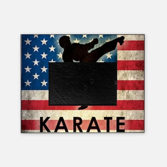 Grunge Karate Picture Frame