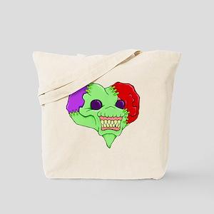 Zombie Heart Tote Bag