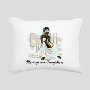 Believe Rectangular Canvas Pillow