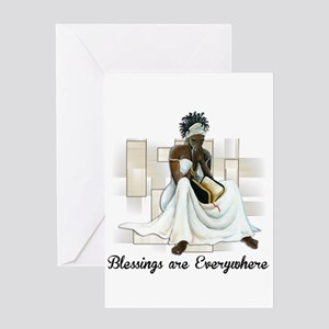 African american greeting cards cafepress believe greeting card m4hsunfo