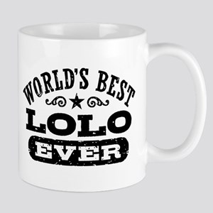 World's Best Lolo Ever 11 oz Ceramic Mug
