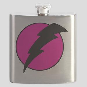 Flash Bolt Pink Lightning Flask