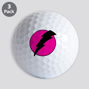 Flash Bolt Pink Lightning Golf Balls