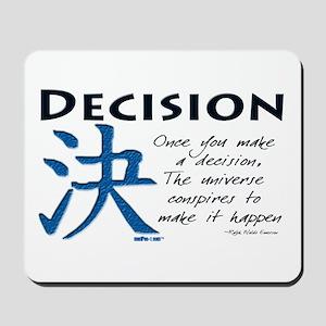 Decision Mousepad