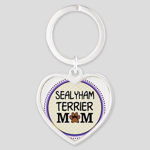 Sealyham Terrier Dog Mom Keychains