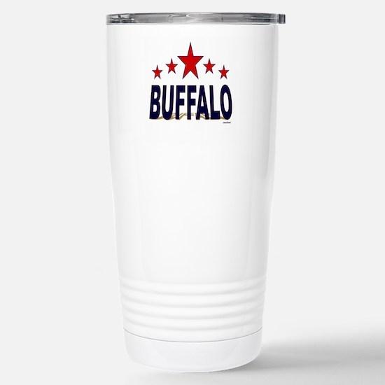 Buffalo Stainless Steel Travel Mug