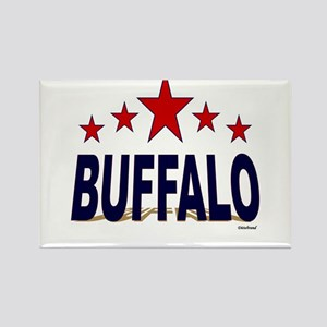Buffalo Rectangle Magnet
