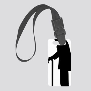 Pensioner Small Luggage Tag