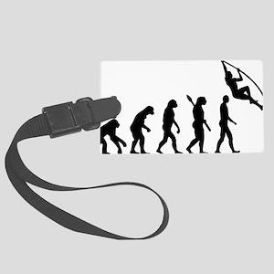 Evolution Pole vault Large Luggage Tag