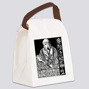 Dante and Beatrice Canvas Lunch Bag