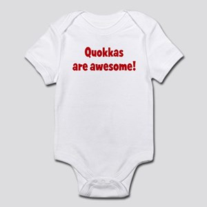 Quokkas are awesome Infant Bodysuit