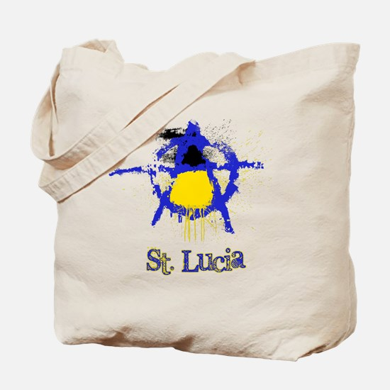 St. Lucianarchy Tote Bag