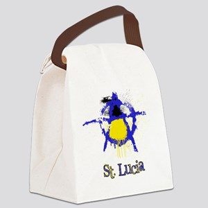 St. Lucianarchy Canvas Lunch Bag