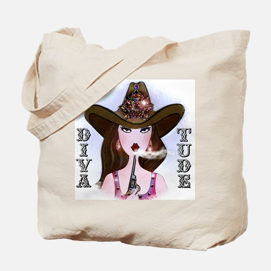 Diva of a Cowgirl Tote Bag