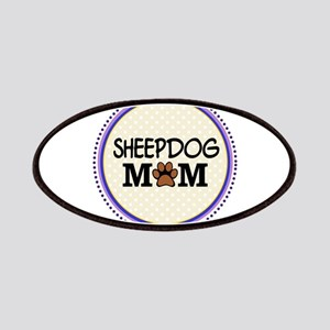 Sheepdog Mom Patches