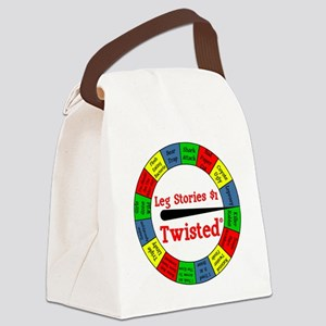 Twisted Leg Stories Canvas Lunch Bag