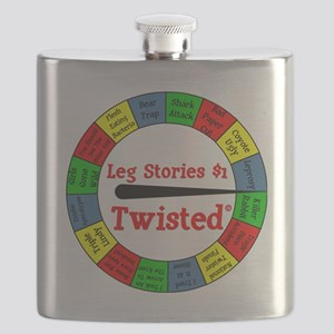 Twisted Leg Stories Flask