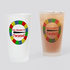 Twisted Leg Stories Drinking Glass