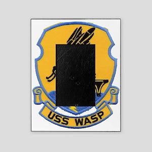 uss wasp cvs patch transparent Picture Frame