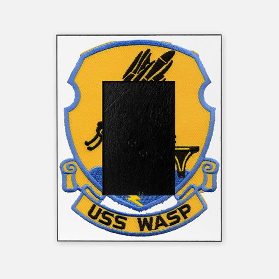 uss wasp cvs patch transparent Picture Frame