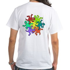 Escher Quincys White T-Shirt