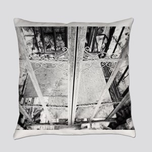 Old Elevator Everyday Pillow