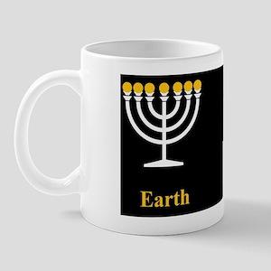 Sumerian and Christian symbols Mug