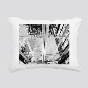 Old Elevator Rectangular Canvas Pillow