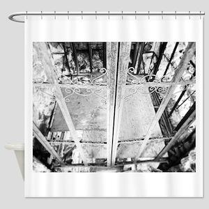 Old Elevator Shower Curtain