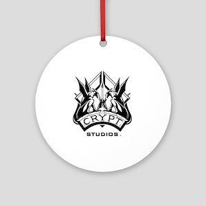 Crypt Studios Round Ornament