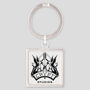 Crypt Studios Square Keychain