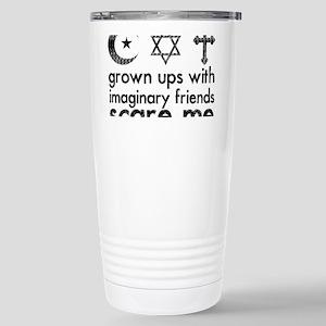 imaginary friends Stainless Steel Travel Mug