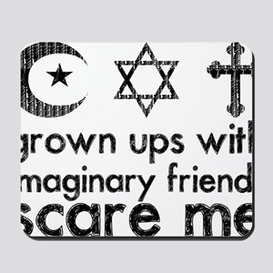 imaginary friends Mousepad