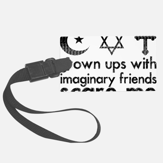 imaginary friends Luggage Tag