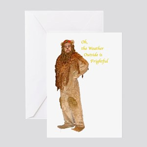 Lion Holiday Greeting Cards