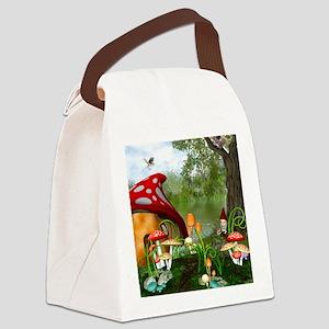 Dwarves Land Canvas Lunch Bag