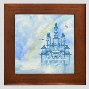 Dream Castle Framed Tile