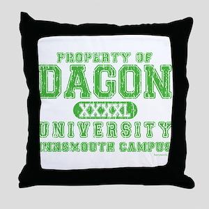Dagon University Throw Pillow