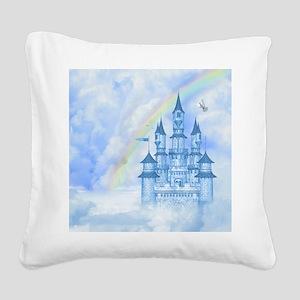 Dream Castle Square Canvas Pillow