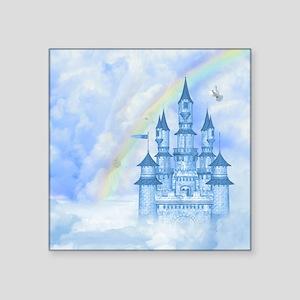 """Dream Castle Square Sticker 3"""" x 3"""""""