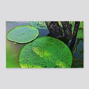 Amazonian Lilly Pads 3'x5' Area Rug