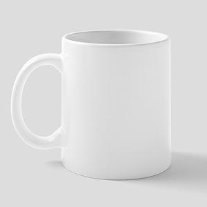 uss ajax white letters Mug