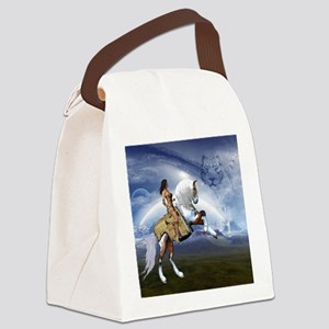 Dream Land Canvas Lunch Bag