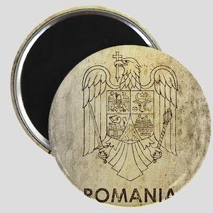 Vintage Romania Magnet