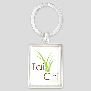 Tai Chi Growth 5 Portrait Keychain