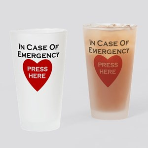 CPR Drinking Glass