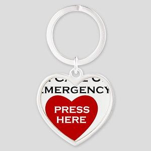 CPR Heart Keychain