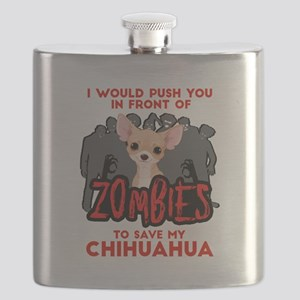 I Would Push You in Front of Zombies to Save Flask