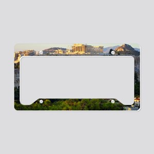 Acropolis view License Plate Holder